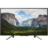 Sony Bravia KDL43WF663 LED HDR Full HD 1080p Smart TV, 43 with Freeview Play & Cable Management, Bla