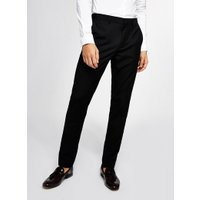 Mens Black Skinny Trousers, Black