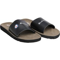 Ben Sherman Mens Daytona Slider Sandals Black