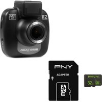 NEXTBASE 112 Lite Dash Cam & 32 GB High Performance Class 10 microSD Memory Card Bundle, Black