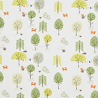 John Lewis & Partners Camping Furnishing Fabric, Green
