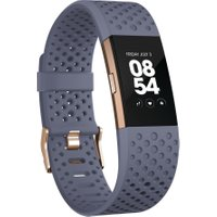 FITBIT Charge 2 - Blue & Gold, Large, Blue