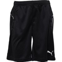 Puma Mens Poly Training Shorts Black