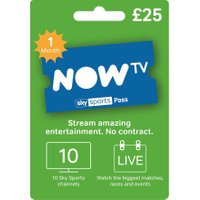 NOW TV Sky Sports Pass - 1 Month