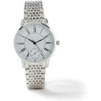 Mens Silver Link Watch*, SILVER