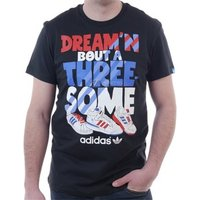 adidas  Tshirt Oldschool G Tee 3 Some  men's T shirt in Black