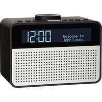 John Lewis & Partners Astro DAB+/FM Digital Clock Radio with Alarm & LCD Display