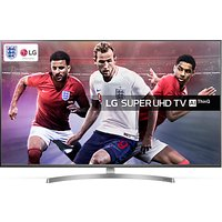 LG 55SK8100PLA LED HDR Super UHD 4K Ultra HD Smart TV, 55 with Freeview Play/Freesat HD, Cinema Scre