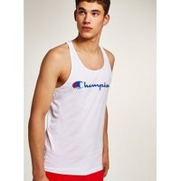 Mens Champion White 'Corp' Vest, White