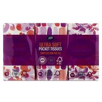 Boots Multi Pocket Tissues 4ply Floral 6 pack