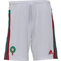 adidas Mens Morocco 3 Stripe Climacool Football Shorts White/Bright Green/Power Red