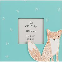 John Lewis & Partners Baby Forest Friends Photo Frame