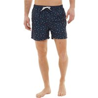 Onfire Mens Printed Swim Shorts Navy/Multi