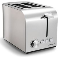 MORPHY RICHARDS Equip 222055 2-Slice Toaster - Brushed Stainless Steel, Stainless Steel