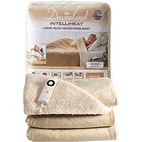 Dreamland 16327 Relaxwell Heated Throw Luxury Electric Blanket