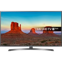 LG 55UK7550PLA LED HDR 4K Ultra HD Smart TV, 55 With Freeview Play/Freesat HD & Crescent Stand, Ultr