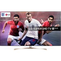 LG 55SK9500PLA LED HDR Super UHD 4K Ultra HD Smart TV, 55 with Freeview Play/Freesat HD, Cinema Scre