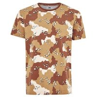 Mens Yellow Sand Camouflage T-Shirt, Yellow