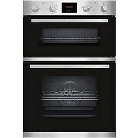 Neff U1HCC0AN0B Built-In Double Oven, Stainless Steel