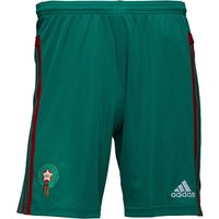 adidas Mens Morocco 3 Stripe Climacool Goalkeeper Football Shorts Bright Green/Power Red/White