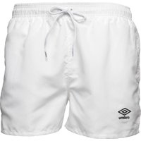 Umbro Mens Essential Swim Shorts White