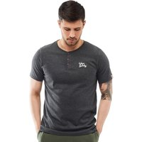 Tokyo Laundry Mens Westby T-Shirt Charcoal