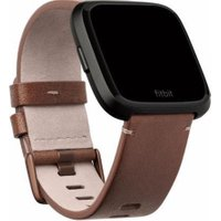 FITBIT Versa Leather Band - Cognac, Large, Cognac