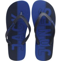 JACK AND JONES Mens JFWLOGO Flip Flops Turkish Sea