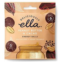 Deliciously Ella Energy Balls - Peanut Butter & Cacao 48g