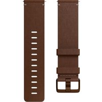 Fitbit Versa Leather Wristband, Small, Cognac