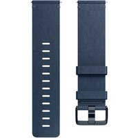 Fitbit Versa Leather Wristband, Small, Blue