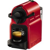 NESPRESSO XN100540 Nespresso Inissia Coffee Machine - Ruby Red, Red