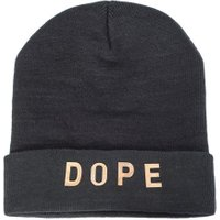 DOPE METAL LETTER BEANIE