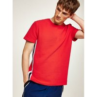 Mens Red Taping T-Shirt, Red