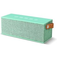 Fresh 'n Rebel Rockbox brick fabriq wireless speaker peppermint