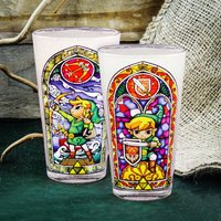 Legend of Zelda Links Glass