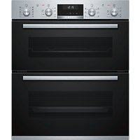 Bosch Serie 6 NBA5570S0B Built-Under Double Oven, Stainless Steel