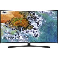 Samsung UE55NU7500 Curved HDR 4K Ultra HD Smart TV, 55 with TVPlus/Freesat HD, Dynamic Crystal Colou