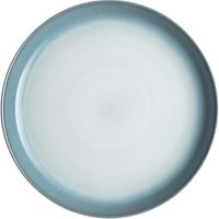 Denby Azure Haze Medium Coupe Plate, Blue, Dia.21cm