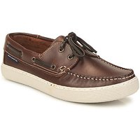 French Connection  Sheringham  men's Boat Shoes in Brown