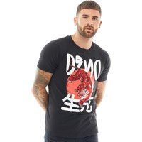 DFND London Mens Khan T-Shirt Black