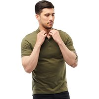 JACK AND JONES Mens Colin Polo Khaki Marl