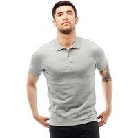 JACK AND JONES Mens Colin Polo Light Grey