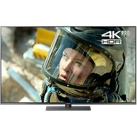 Panasonic TX-49FX750B LED HDR 4K Ultra HD Smart TV, 49 with Freeview Play/Freesat HD & Art Glass Des