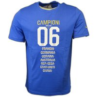 Puma  Italy 2006 Tribute Graphic Tee  men's T shirt in Blue