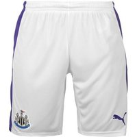 Puma  2016-2017 Newcastle Third Football Shorts (Kids)  men's Shorts in White