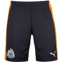Puma  2016-2017 Newcastle Away Football Shorts (Kids)  men's Shorts in Blue