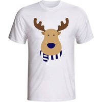 Gildan  Tottenham Rudolph Supporters T-shirt - Kids  men's T shirt in White