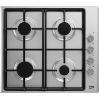 BEKO HIZG64125SX Gas Hob - Stainless Steel, Stainless Steel