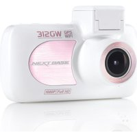 NEXTBASE 312GW Full HD Dash Cam - White Rose Gold, White